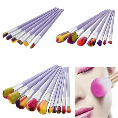 Photo of eyeshadow women powder pro cosmetics blusher foundation make up brush set