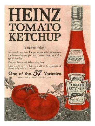 Heinz, Magazine Advertisement, USA, 1910 Prints at AllPosters.com