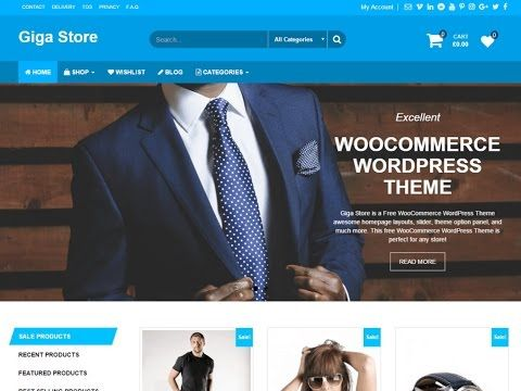 Giga Store WordPress Theme Review With Download Link | SoftHopper ...