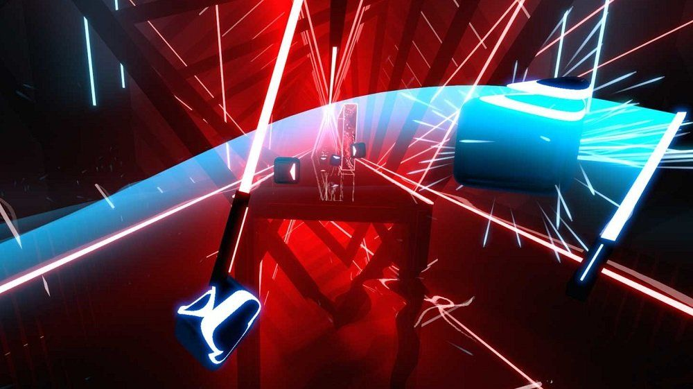 Facebook Acquires Beat Saber Developer For Future Oculus Vr Projects Vr Games Playstation Vr Video Games Ps4