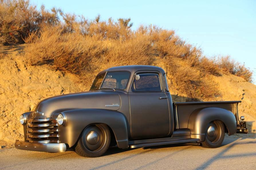 Chevy 3100 Thriftmaster Grey Matte | paint | Pinterest | Wheels ...