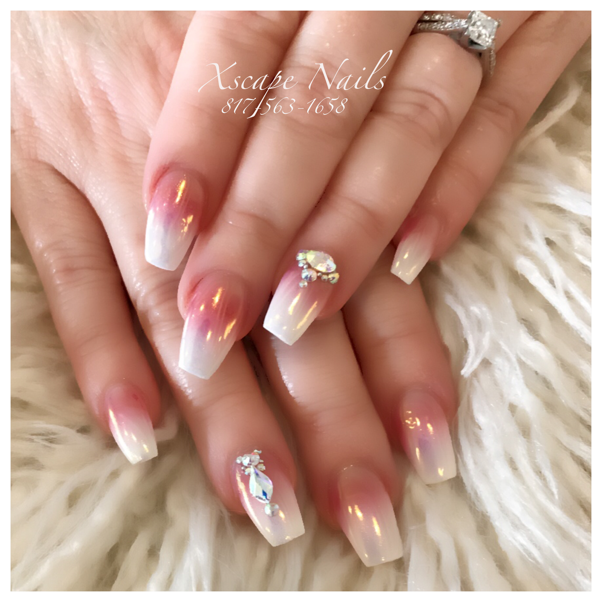 Ombr nails chrome nails cute nails designs pinterest ombr nails chrome nails prinsesfo Image collections