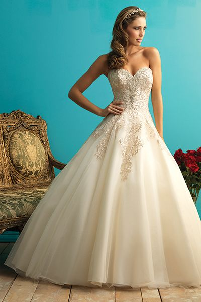 25 Wedding Dresses That Are Perfect for Curvy Brides | Allure ...