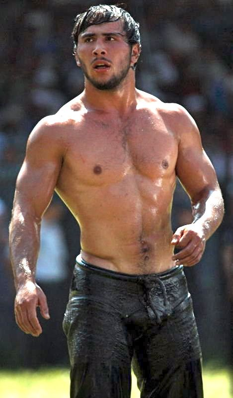 Wrestling sexy men