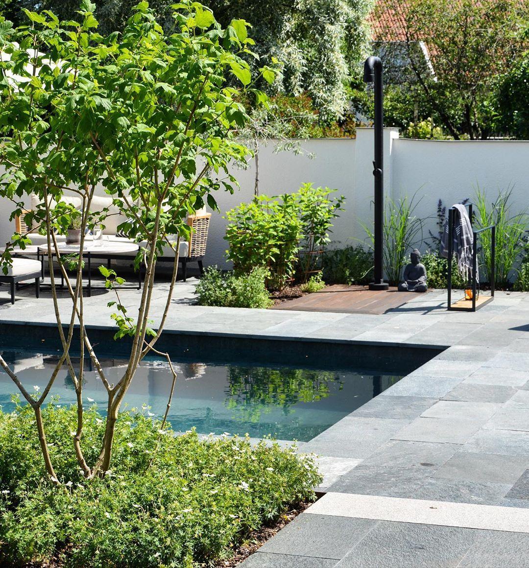 "Bengtsson Design on Instagram: ""Lazy days by the pool ☀️#bengtssondesignproject #exterior #design #homeandgarden #exteriordesign #outdoorliving  #gardeninspiration…"""