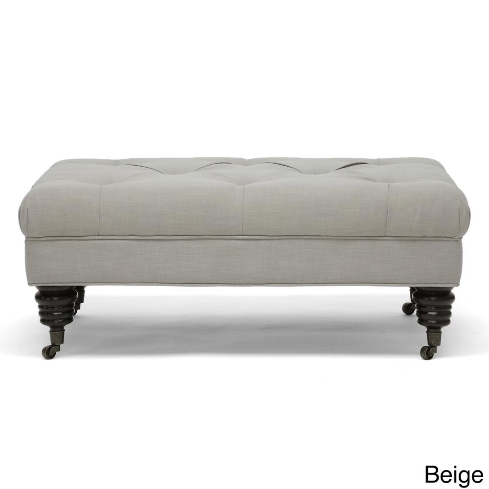 Guest unit foot of bed option - Baxton Studio Bracknell Linen Modern ...