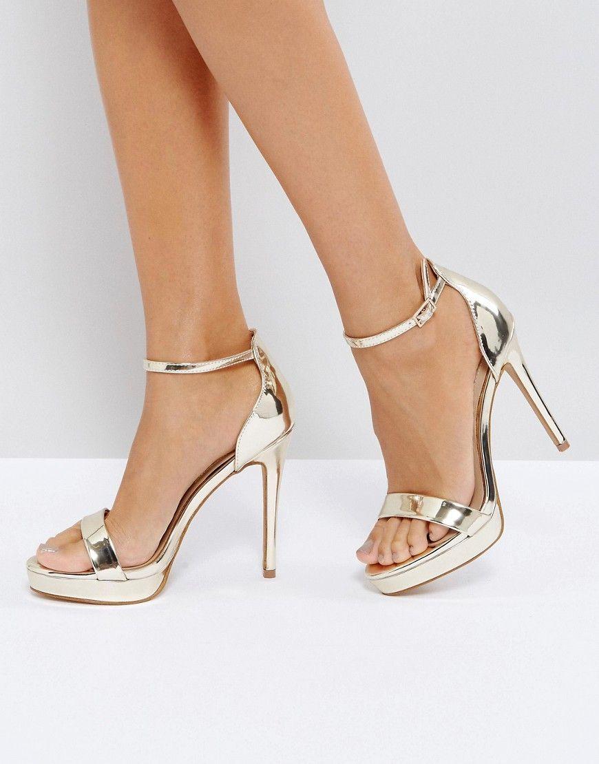 ALDO Embellished Blush Heeled Sandals clearance original discount order 5lqfD