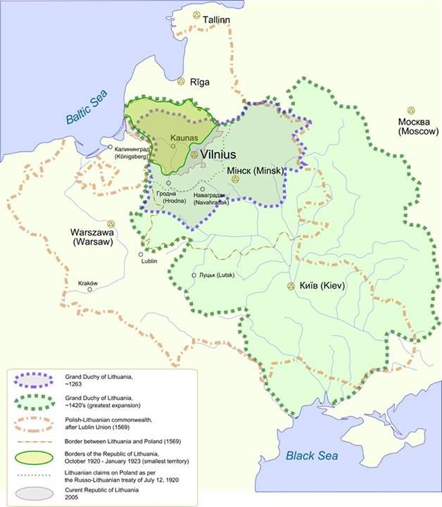 Pin by Kris Arlauskas-Hartley on Lithuania | Lithuania, Map ...