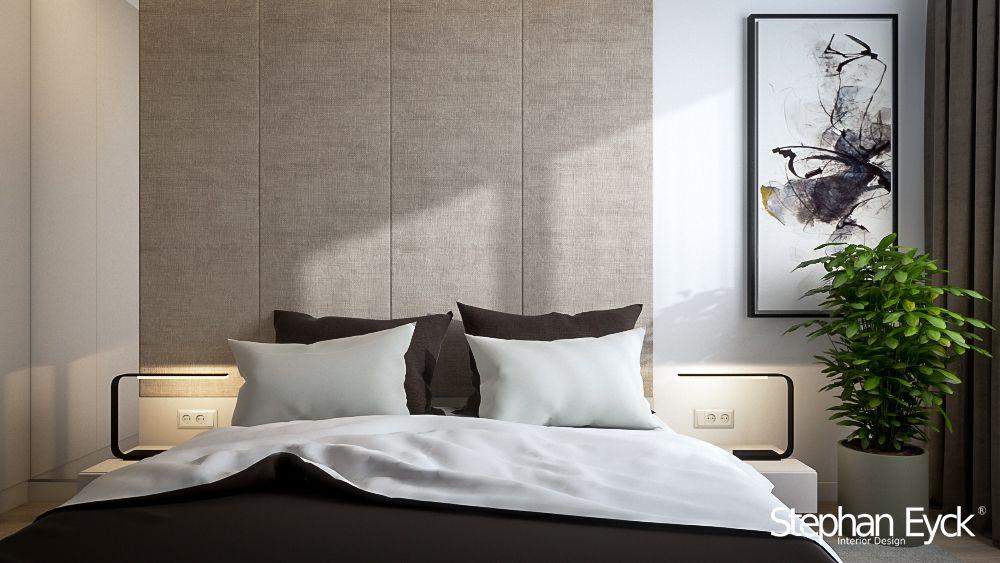 Bedroom interior design Apartment in Bucharest