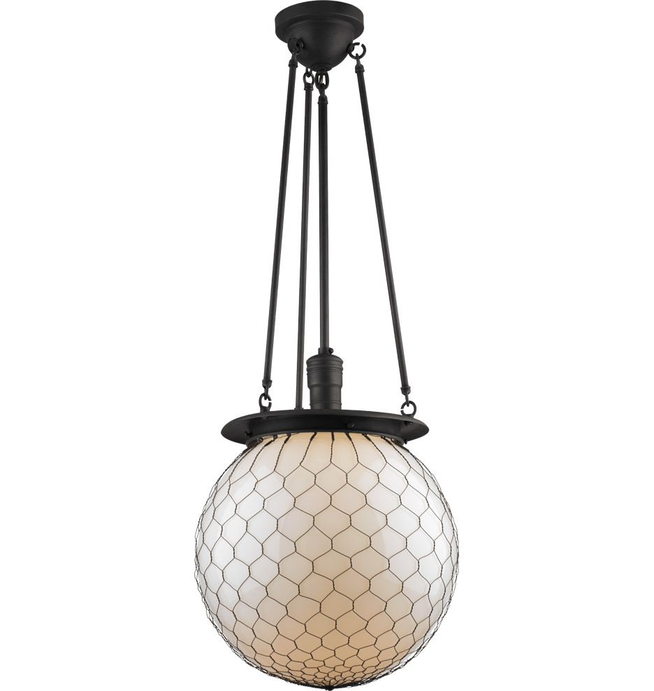 Hood | Wire mesh, Globe and Industrial style