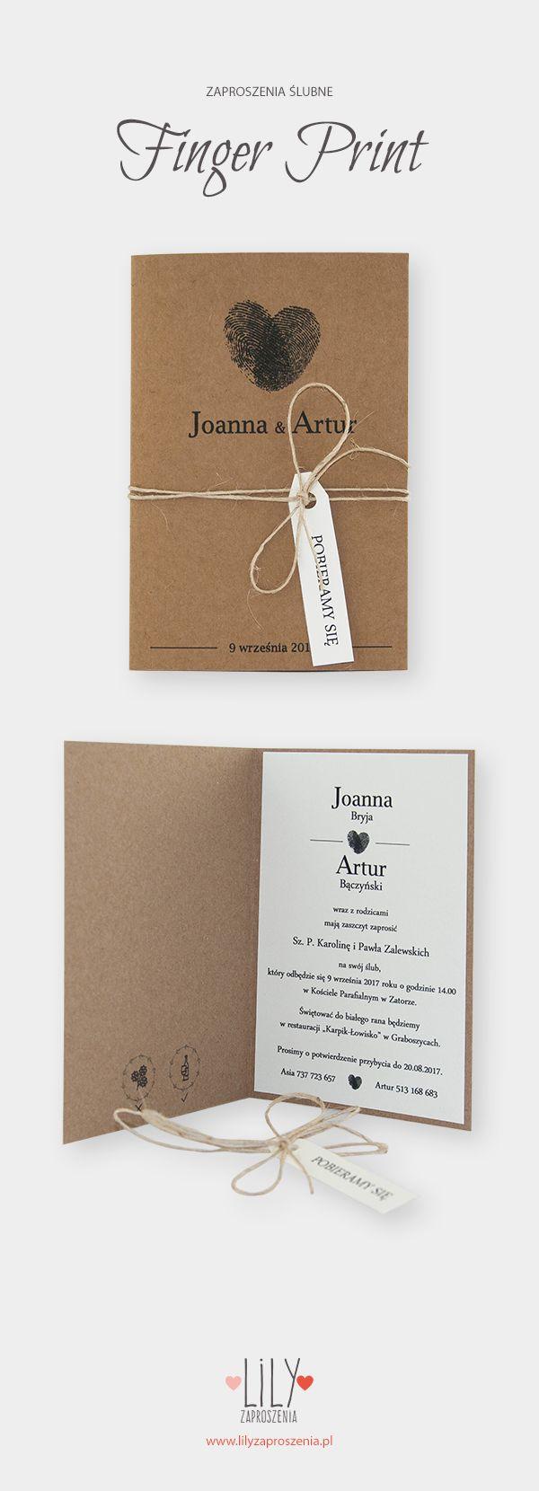 Zaproszenie Slubne Eco Zaproszenia Slubne Wykonane Na Wysokiej Jakosci Matowy Graphic Design Wedding Invitations Wedding Invitations Wedding Invitations Rustic