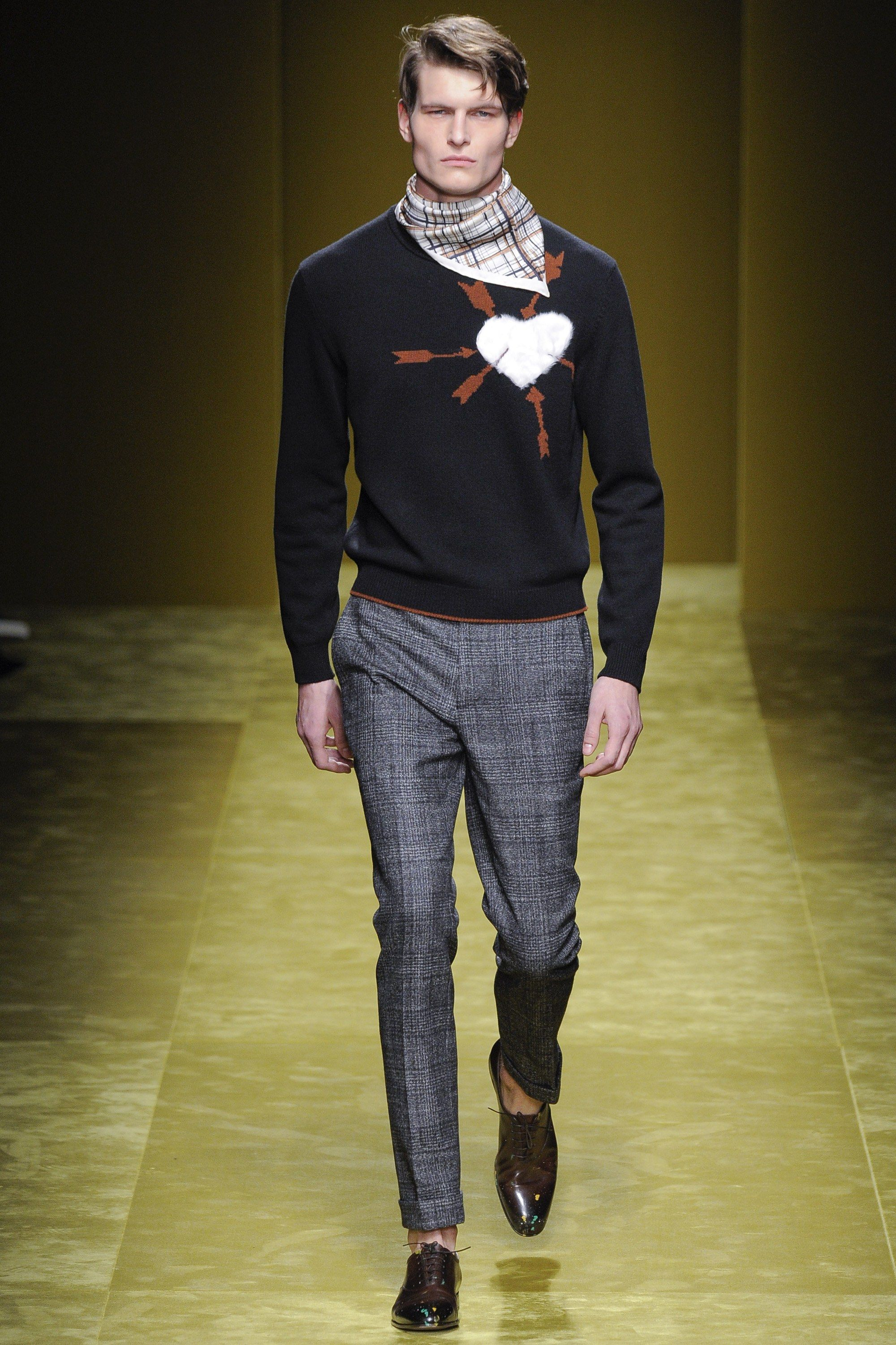 Salvatore Ferragamo Fall 2016 Menswear Fashion Show