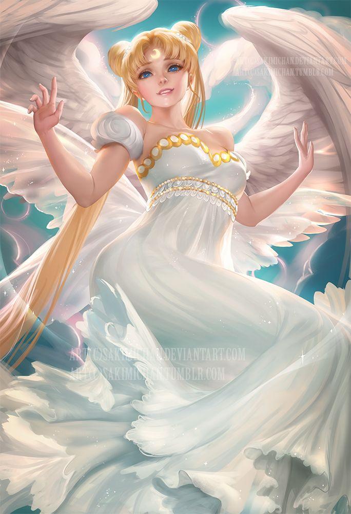 "mickyyyyy: ""Moon power by sakimichan "" … | Beautiful artwork"