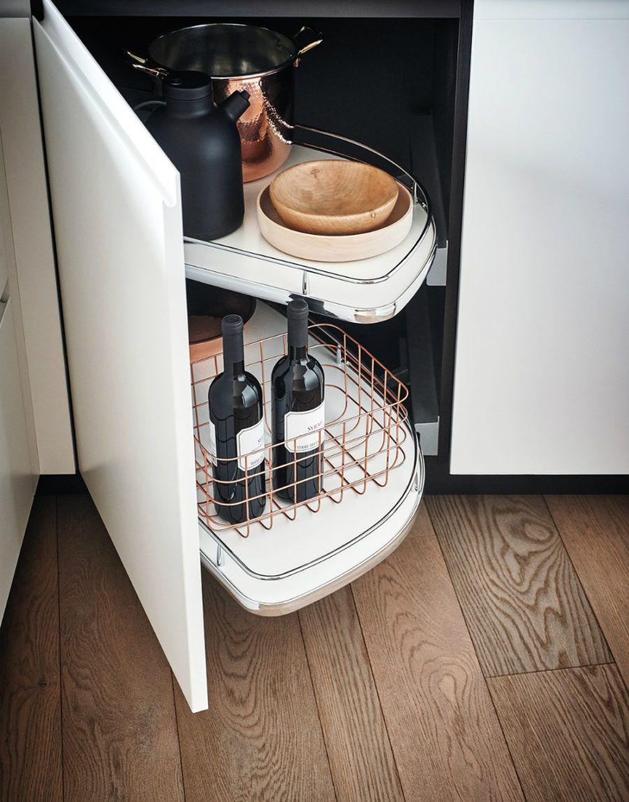 Lacquered Melamine Kitchen From Cesar Arredamenti Kuchenhalbinsel Kuche Lackieren Minimalistische Schranke