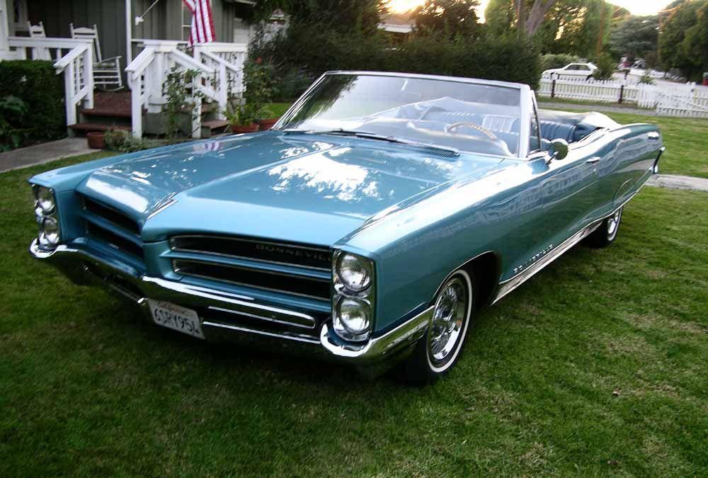 1966 Pontiac Bonneville Convertible