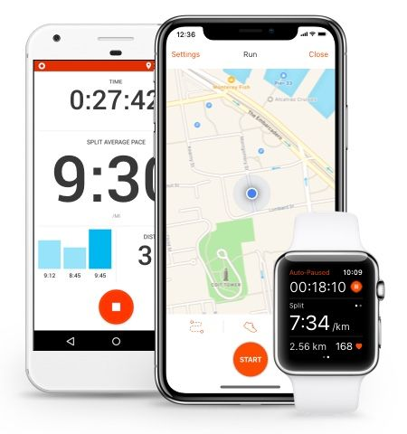 Strava Run and Cycling Tracking on the Social Network