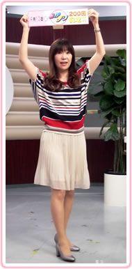 おかデリ 女子アナ ファッションチェック