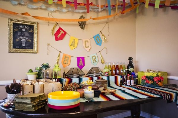 This Darling, Mexican Themed Engagement Party Is A Must