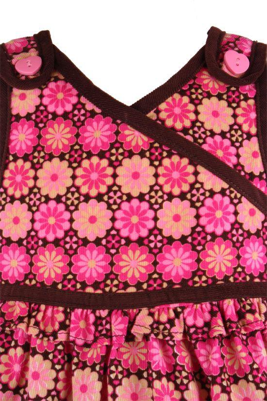 65e0394cfed B T Kids Fuchsia Floral Print Jumper Dress-Treasure Box Kids ...