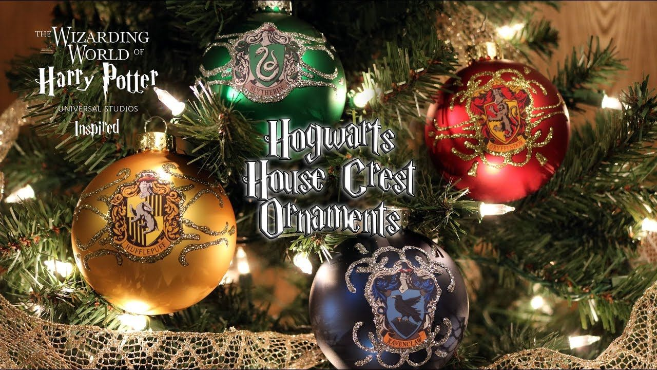 Harry Potter Christmas Ornaments Universal Studios.Diy Hogwarts House Crest Ornaments Universal Studios
