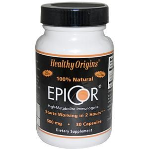 Healthy Origins, EpiCor -  activate your natural killer cells in 2 hours!  went on holidays and sneers-at-vitamins came back with a nasty cough that lasted months; I took this and didn't.