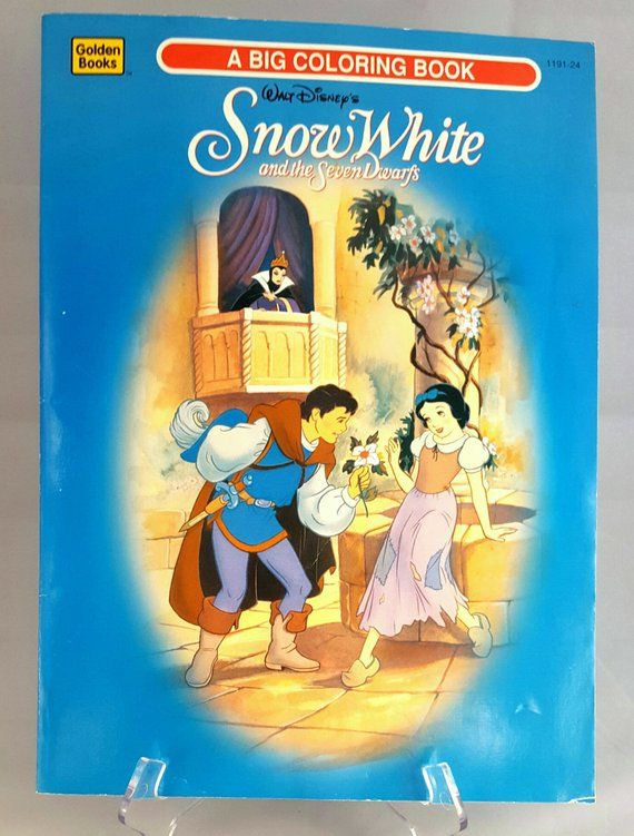Walt Disney\'s Snow White and the Seven Dwarfs Big Coloring ...