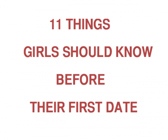 Things to do on the first date