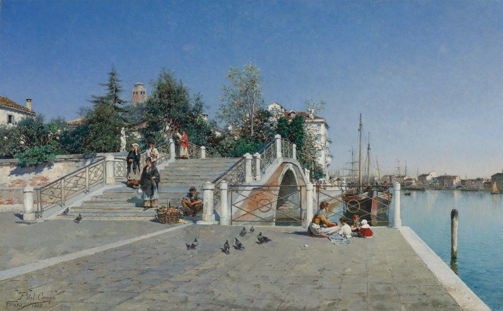 """""""Венеция, Дорсудоро"""", перуанский художник Кампо Федерико ..."""