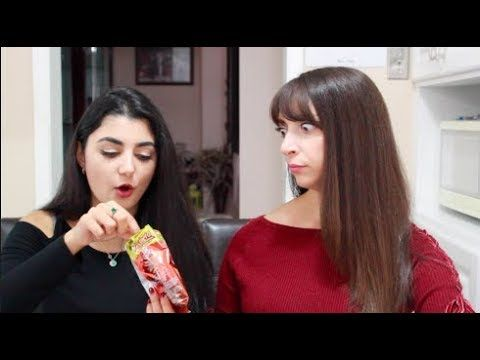 Canadians try Colombian Snacks