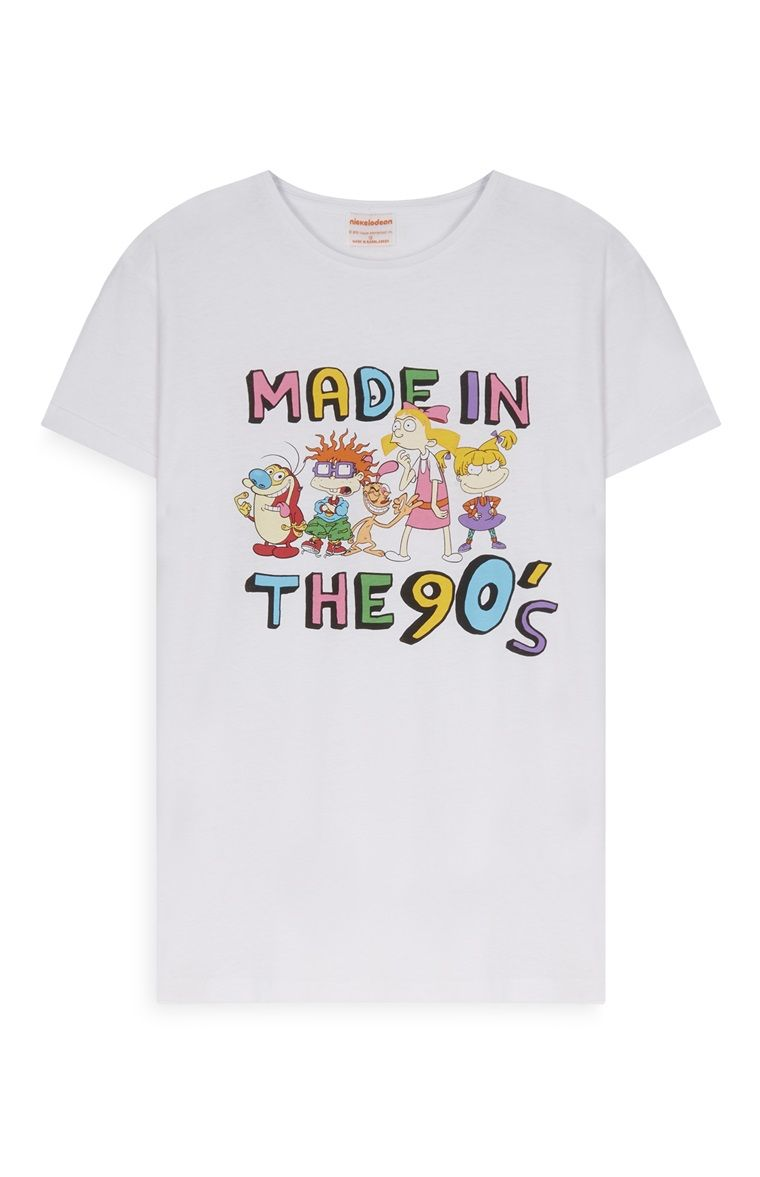 6cf630a54d9e Primark - Nickelodeon Made In The 90s T-Shirt | I want in 2019 | 90s ...