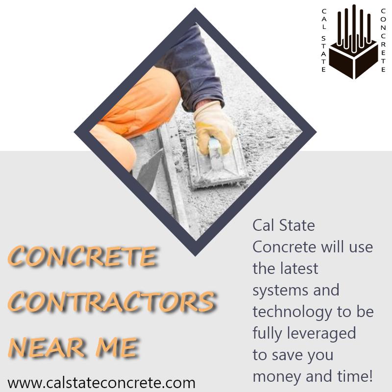 How Concrete Is Made Cal State Concrete Bridge Building Concrete Contractor Concrete