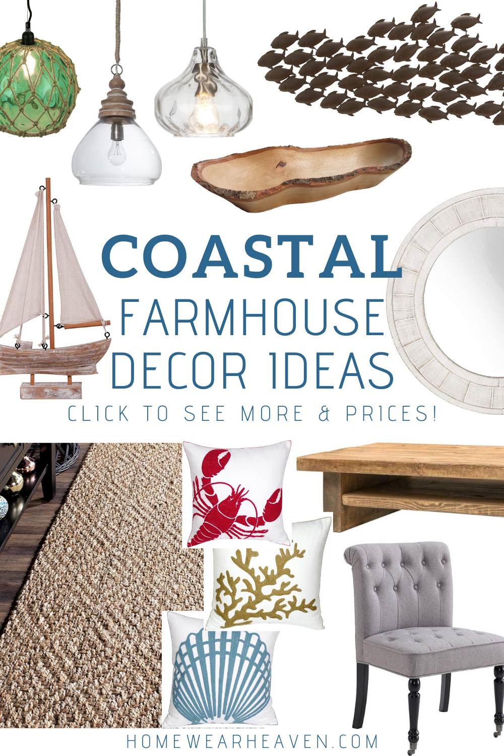 All Categories | The Nautical Decor Store in 2020 | Coastal farmhouse decor,  Farmhouse decor, Ocean themed bathroom decor