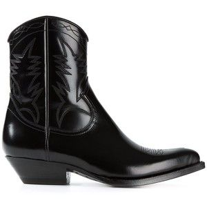 776bdd04375 ysl cowboy boots - Google Search | things | Shoes, Black cowboy ...