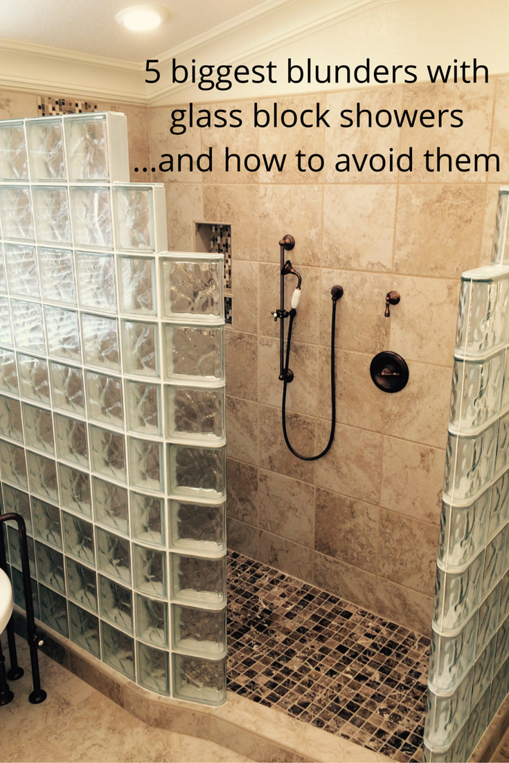 how to avoid the 5 biggest blunders with glass block showers bathroom layoutbathroom designsbathroom - Bathroom Designs Using Glass Blocks
