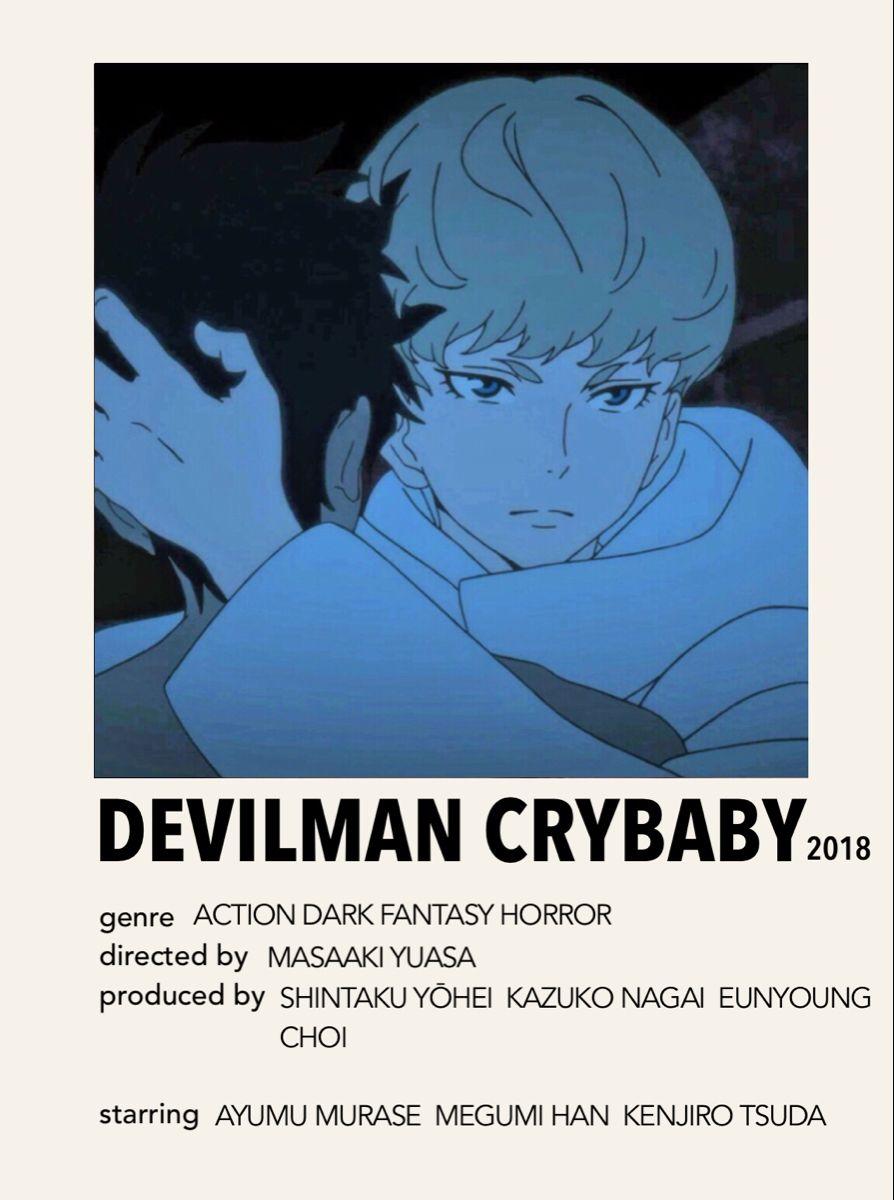 devilman crybaby anime minimal room