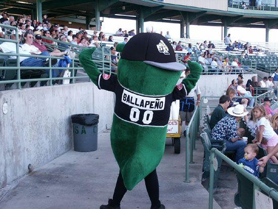 Ballapeno The Jalape 241 O San Antonio Missions Mascot Aa