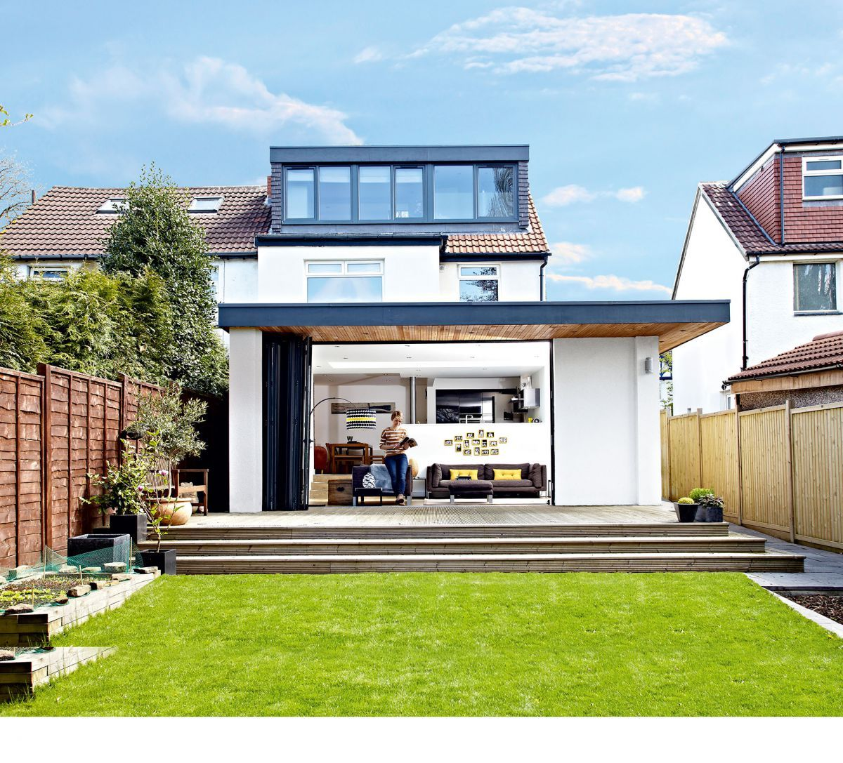 Kitchen Extensions The Lowdown Dormer Loft Conversion Flat Roof Extension Loft Conversion