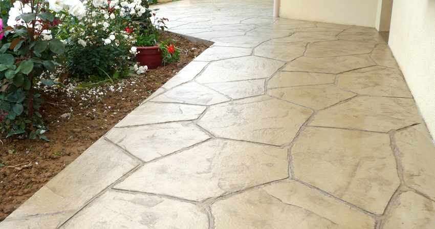 b ton imprim beton decoratif exterieur pinterest suelos exterior y suelos. Black Bedroom Furniture Sets. Home Design Ideas