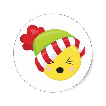 Christmas Time Winter Emoji Stickers Zazzle Com Emoji Stickers Christmas Stickers Christmas Time