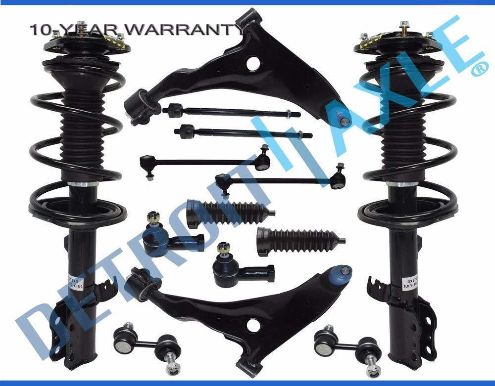 Brand New 14pc Complete Front & Rear Suspension Kit for Sebring
