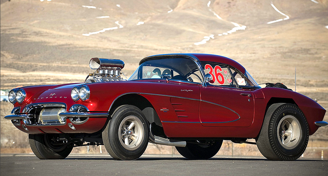 1962 Mazmanian\'s Corvette | Old school dragracers | Pinterest | Corvette