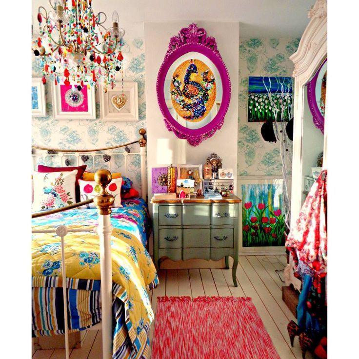 Elegant Cool Bohemian Chic Teen Girl Bedroom Ideas .... By Www.best Homedeco