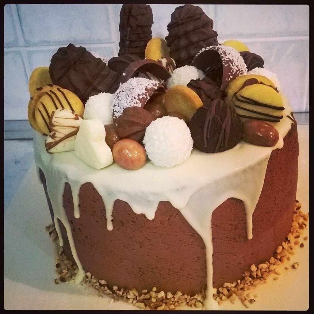 Torta al cioccolato super goduriosa