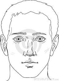 Image Result For Outline Drawing Of Face Outline Drawings Male Face Face Drawing