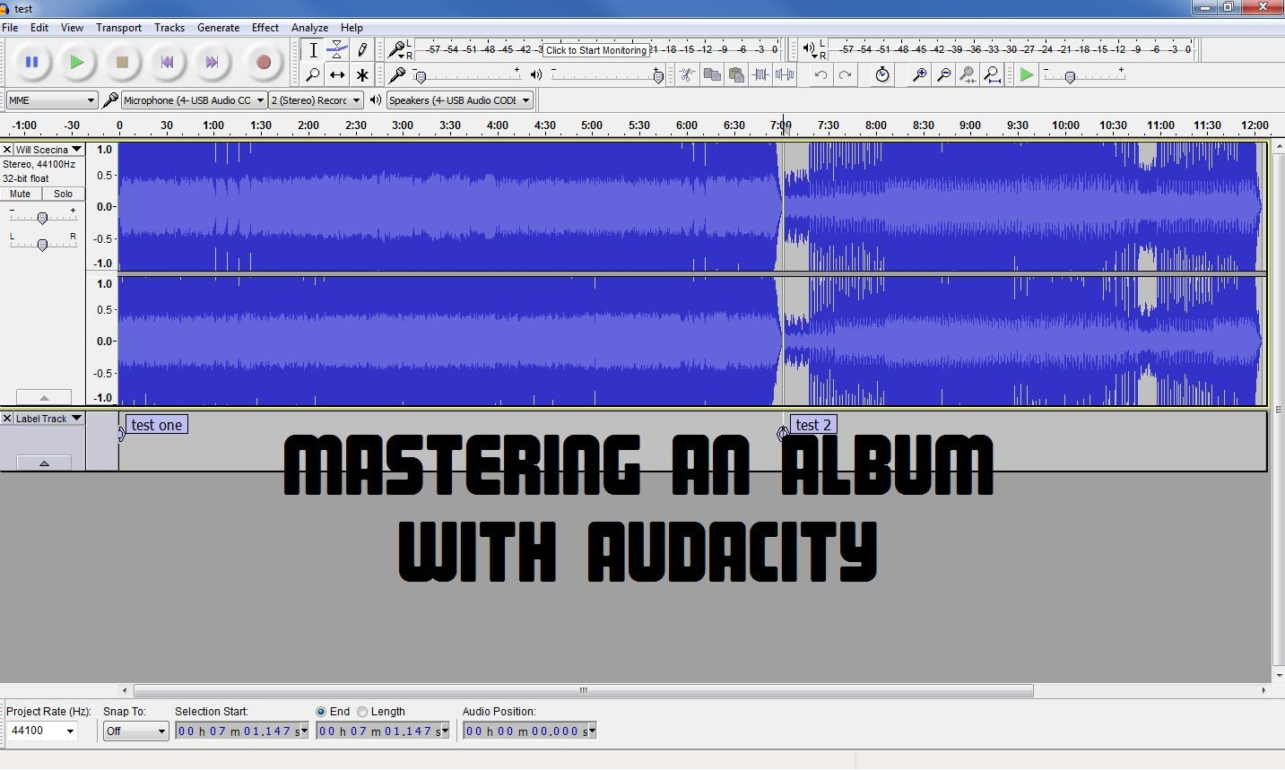 Audio Mastering an Album With Audacity How To Make Your