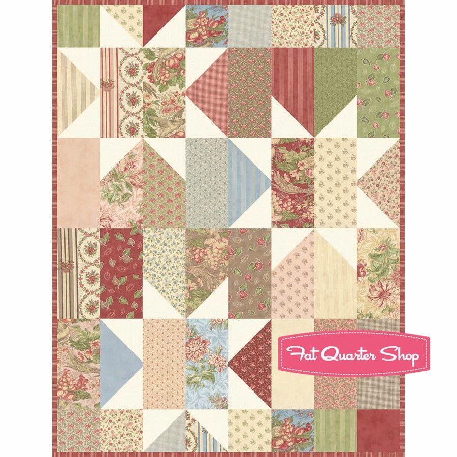 Country Orchard Jolly Bar™ ReservationBlackbird Designs for Moda ... : layer cake quilt patterns by moda - Adamdwight.com