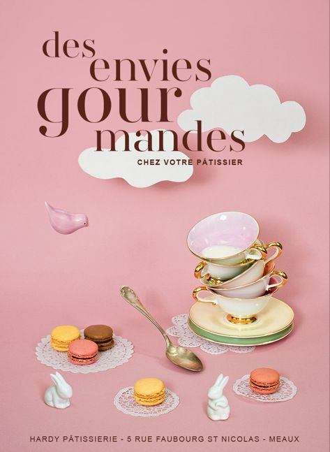 Pâtisserie HARDY, affiche on Behance (With images ...
