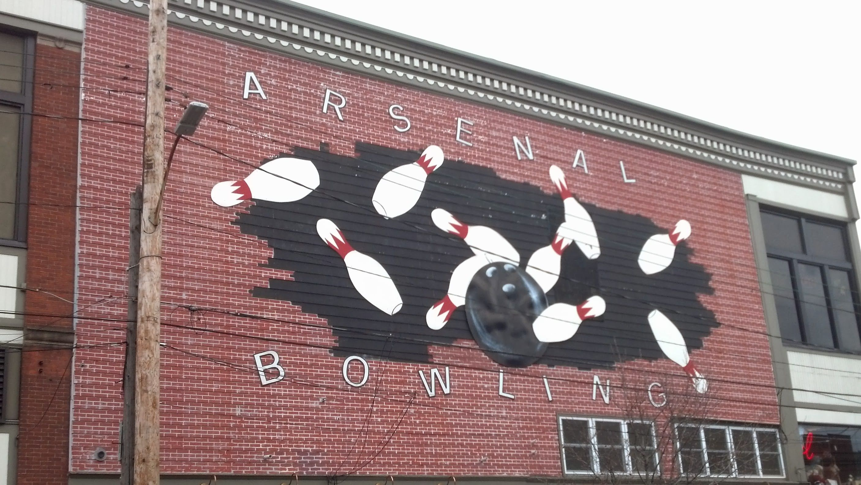 Lawrenceville sign, Pittsburgh