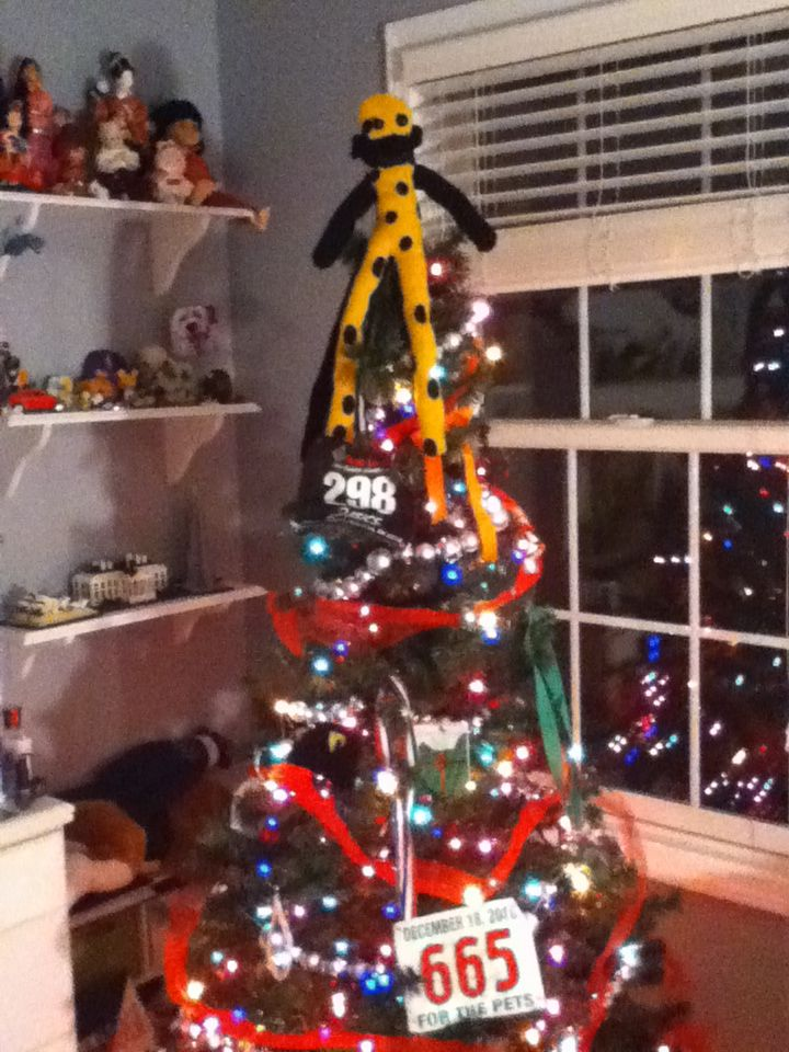My Running Themed Christmas Tree!!!! <3