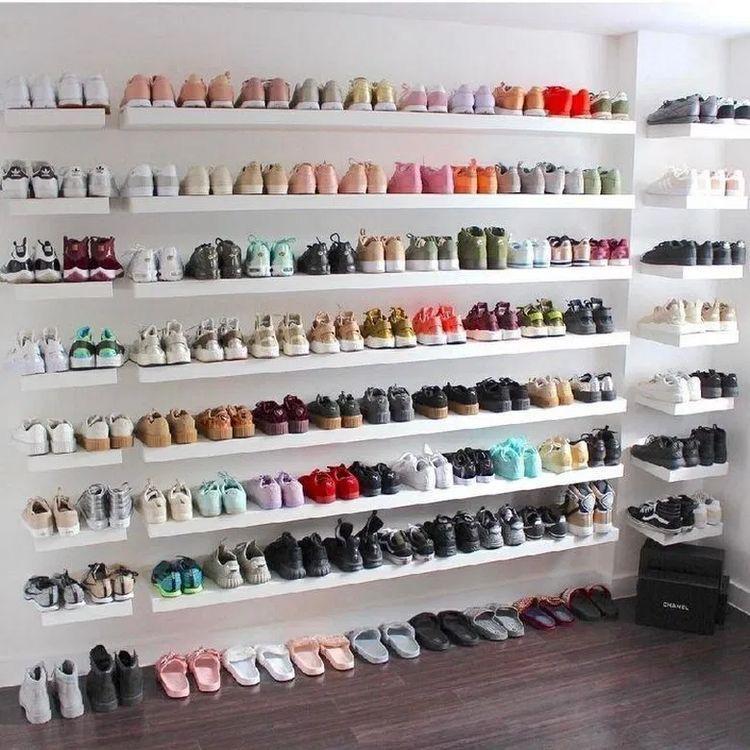 21+ Floating shelf shoe rack ideas